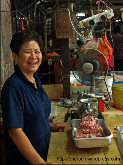 Penjual daging