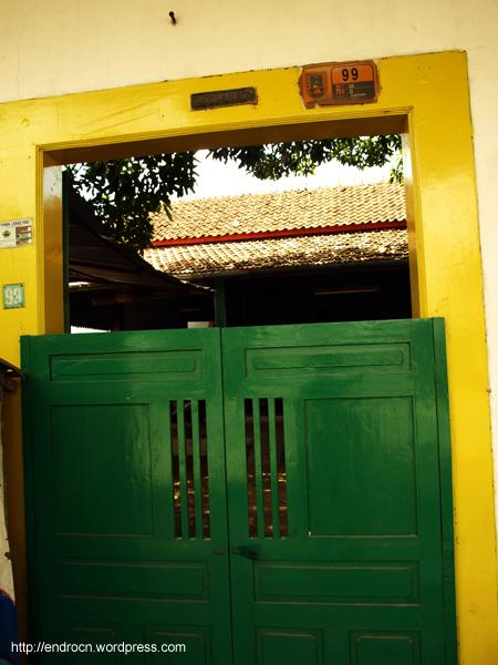 Detil pintu Koboi